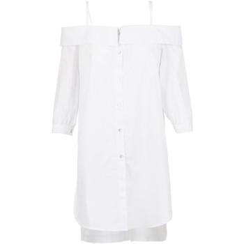 Textil Ženy Košile / Halenky Café Noir JC6260 Bílý