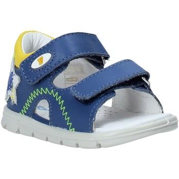 Boty Děti Sandály Falcotto 1500892 01 Modrý