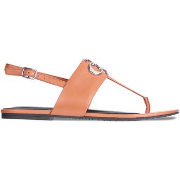 Boty Ženy Sandály Calvin Klein Jeans YW0YW00145 Hnědý