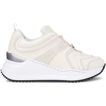 Boty Ženy Módní tenisky Calvin Klein Jeans YW0YW00167 Bílý