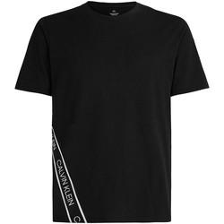 Textil Muži Trička s krátkým rukávem Calvin Klein Jeans 00GMS1K263 Černá