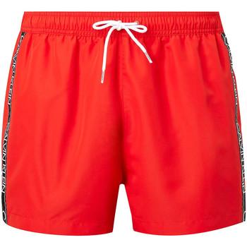 Textil Muži Plavky / Kraťasy Calvin Klein Jeans KM0KM00557 Červené