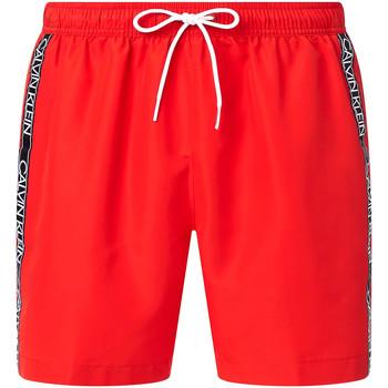 Textil Muži Plavky / Kraťasy Calvin Klein Jeans KM0KM00558 Červené