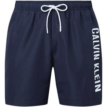 Textil Muži Plavky / Kraťasy Calvin Klein Jeans KM0KM00570 Modrý