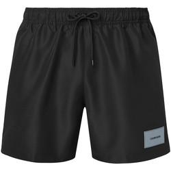 Textil Muži Plavky / Kraťasy Calvin Klein Jeans KM0KM00574 Černá