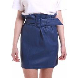 Textil Ženy Sukně Federica Tosi FTE20GO036.0VPELLE Modrý