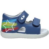 Boty Děti Sandály Falcotto 1500897 01 Modrý