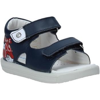 Boty Děti Sandály Falcotto 1500898 01 Modrý