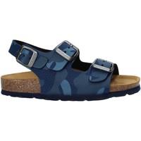 Boty Děti Sandály Grunland SB1681 Modrý
