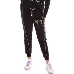 Textil Ženy Teplákové kalhoty Cristinaeffe 4962 Černá