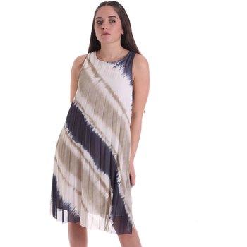 Textil Ženy Společenské šaty Café Noir JA6040 Béžový