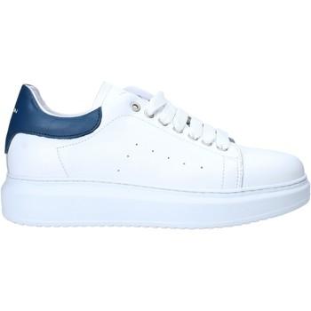 Boty Muži Nízké tenisky Exton 955 Bílý