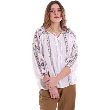Textil Ženy Halenky / Blůzy Alessia Santi 011SD45039 Bílý