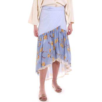 Textil Ženy Sukně Alessia Santi 011SD75003 Modrý