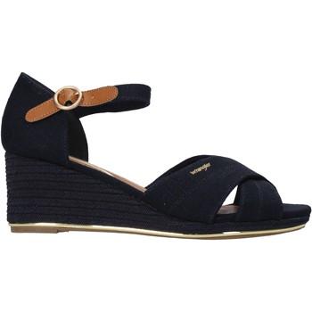Boty Ženy Sandály Wrangler WL11660A Modrý
