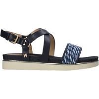 Boty Ženy Sandály Wrangler WL11702A Modrý