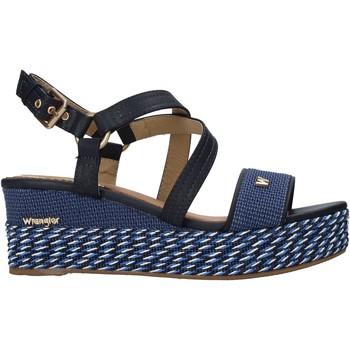 Boty Ženy Sandály Wrangler WL11690A Modrý