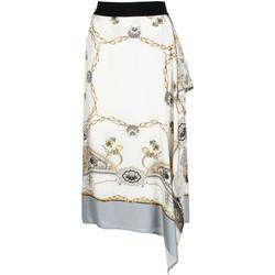 Textil Ženy Sukně Café Noir JO6080 Bílý