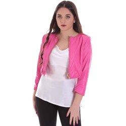 Textil Ženy Bundy Cristinaeffe 0303 2348 Růžový