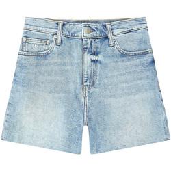 Textil Ženy Kraťasy / Bermudy Calvin Klein Jeans J20J215897 Modrý