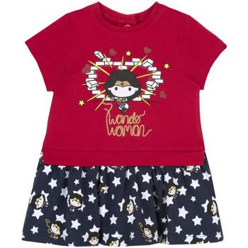 Textil Dívčí Šaty Chicco 09003951000000 Červené
