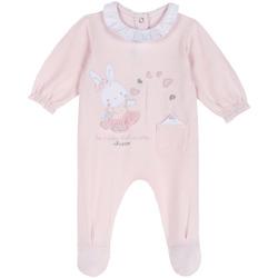 Textil Děti Overaly / Kalhoty s laclem Chicco 09023955000000 Růžový