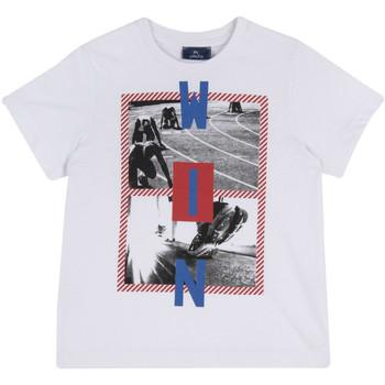 Textil Děti Trička s krátkým rukávem Chicco 09067134000000 Bílý
