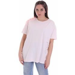 Textil Ženy Trička s krátkým rukávem Vicolo RK0160 Růžový