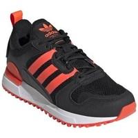 Boty Děti Nízké tenisky adidas Originals ZX 700 HD J Černé, Oranžové