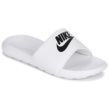 Boty Ženy pantofle Nike VICTORI ONE Bílá