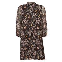 Textil Ženy Krátké šaty Ikks BOTELA Černá