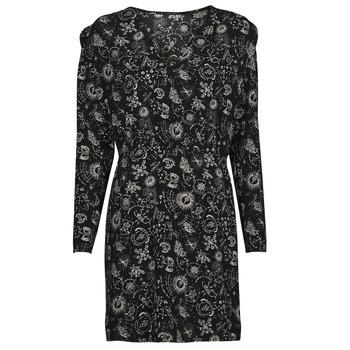 Textil Ženy Krátké šaty Ikks KIMEO Černá