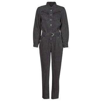 Textil Ženy Overaly / Kalhoty s laclem Ikks MAID Šedá