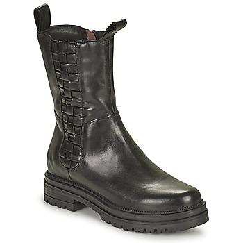 Boty Ženy Kotníkové boty Mjus DOBLE SQUARE Černá