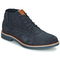 Boty Muži Kotníkové boty Bugatti PLUTONO Tmavě modrá