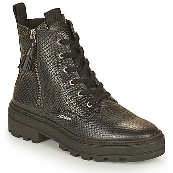 Boty Ženy Kotníkové boty Palladium Manufacture CULT 04 NAP Černá