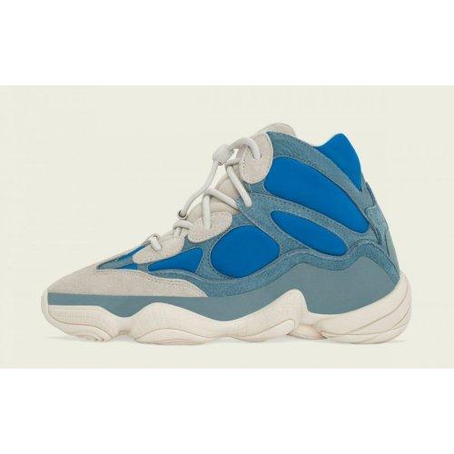 Boty Kotníkové tenisky adidas Originals Yeezy 500 High Frosted Blue Frosted Blue