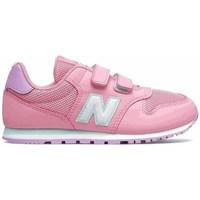 Boty Dívčí Nízké tenisky New Balance 500 Růžové
