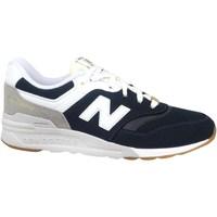 Boty Chlapecké Nízké tenisky New Balance 997 Bílé, Černé