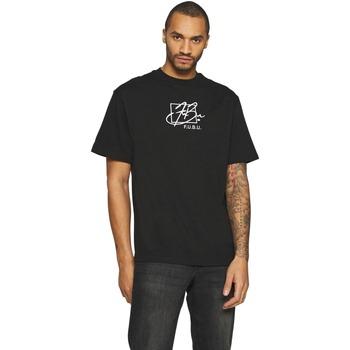 Textil Muži Trička s krátkým rukávem Fubu T-shirt  Script noir