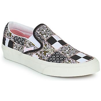 Boty Street boty Vans SLIP ON Černá / Bílá / Růžová