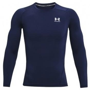 Textil Muži Trička s dlouhými rukávy Under Armour Heatgear Armour Long Sleeve modrá