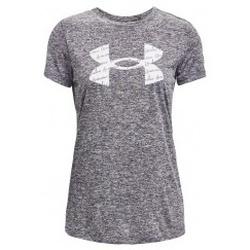 Textil Ženy Trička s krátkým rukávem Under Armour Tech Twist Graphic Short Sleeve šedá