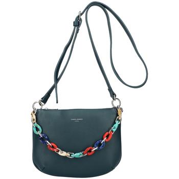 Taška Ženy Malé kabelky David Jones Petrolejová matná dámská crossbody kabelka CM5841 modrá