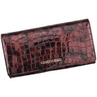 Taška Ženy Náprsní tašky Gregorio Kožená višňová dámská peněženka dárkové krabičce fialová / bordó