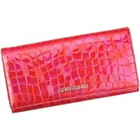 Taška Ženy Náprsní tašky Gregorio Kožená červená dámská peněženka dárkové krabičce červená