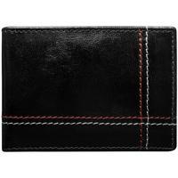 Taška Muži Náprsní tašky Wild Kožená černá menší pánská peněženka RFID v krabičce ALWAYS černá