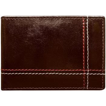 Taška Muži Náprsní tašky Wild Kožená hnědá menší pánská peněženka RFID v krabičce ALWAYS hnědá