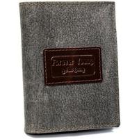Taška Muži Náprsní tašky Forever Young Kožená šedá pánská peněženka RFID v krabičce Šedá