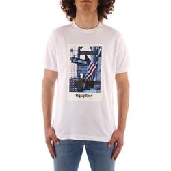 Textil Muži Trička s krátkým rukávem Refrigiwear JE9101-T24400 Bílá